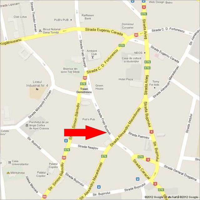 Sediul filialei (pentru detalii, dati clic pe harta)