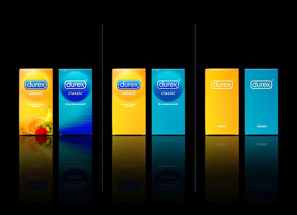 Durex Condoms bared Packaging