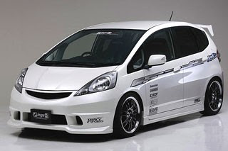 Modifikasi Honda Jazz b