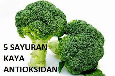 5 Sayuran Yang Kaya Antioksidan