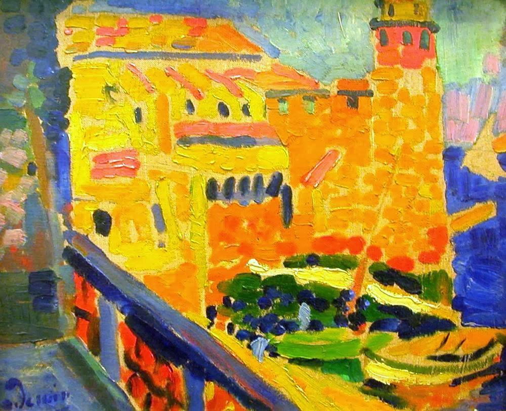 Il faro di Collioure - André Derain