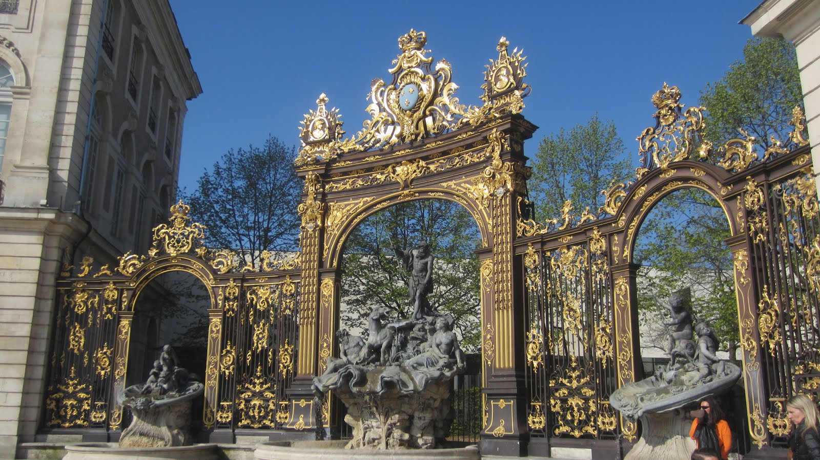 Place Stanislas - Fontaine de Neptune, Nancy France