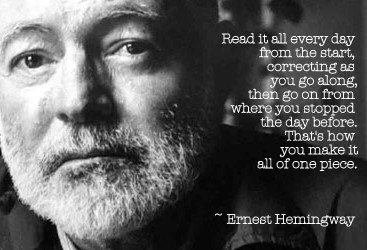 ernest hemingway life goes on for a restless man Ernest hemingway chapters  nick is a young man who is restless and wants to move one  the title three-day blow symbolizes the stage in nick's life and how he .