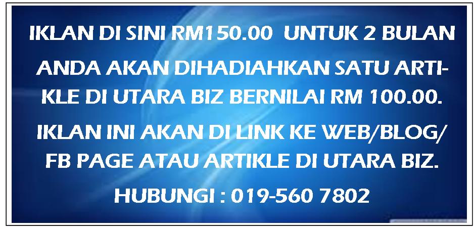 IKLAN DI SINI RM150 UNT 2 BLN