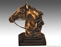 horse art, horse sculpture, clay sculpture