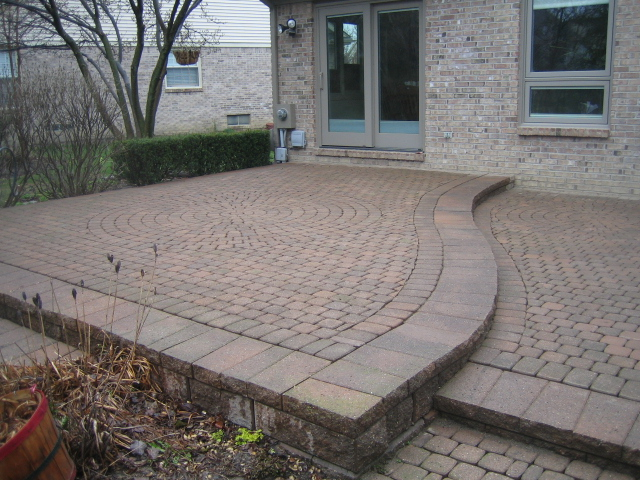 Multi Level Brick Paver Patio In Canton Restored Back To Original Beauty  And Function!
