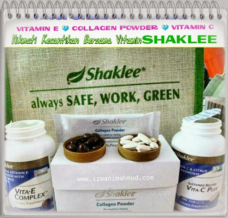 Promosi Shaklee : Disember 2014, Vitamin E, Collagen Powder & Vitamin C