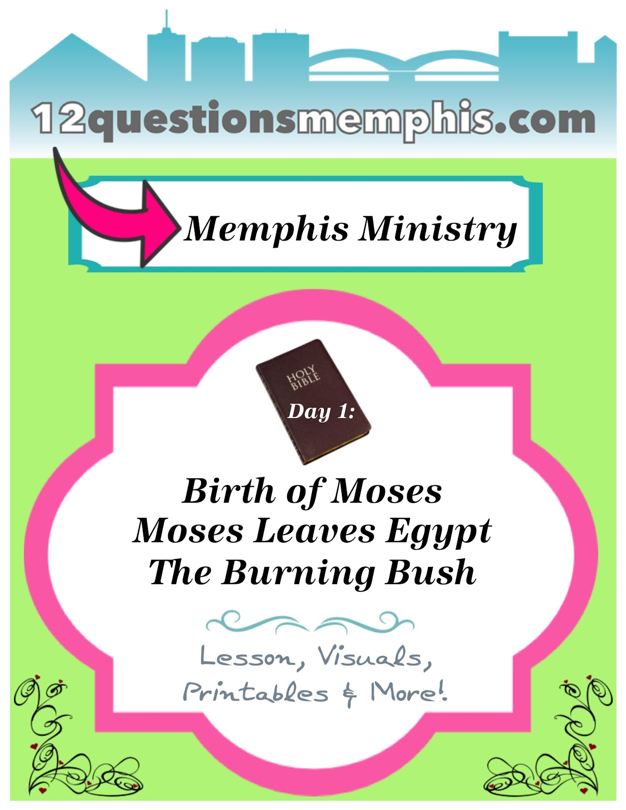 12 questions memphis ministry day 1 moses
