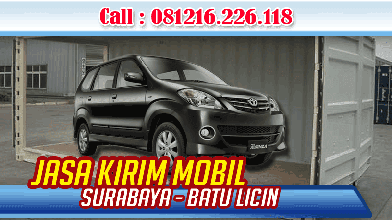 Jasa Pengiriman Mobil Surabaya Batu Licin