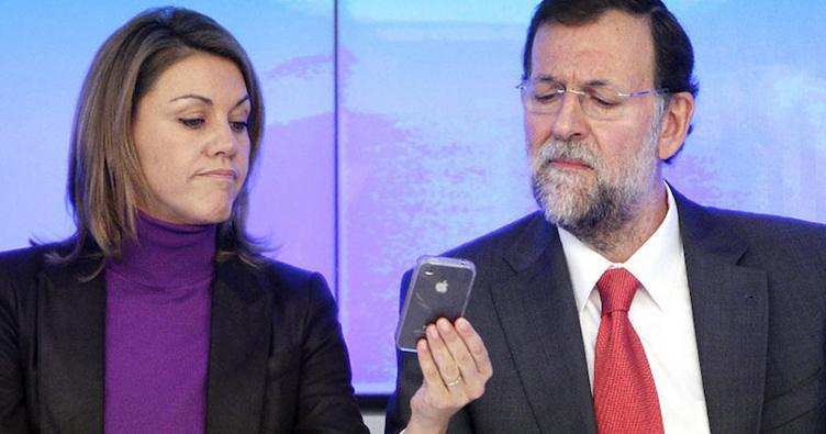 ¿Podrían ser falsos los SMS de Barcenas y Mariano Rajoy?