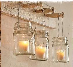 Shabby in love barattoli e candele - Candele decorative ikea ...