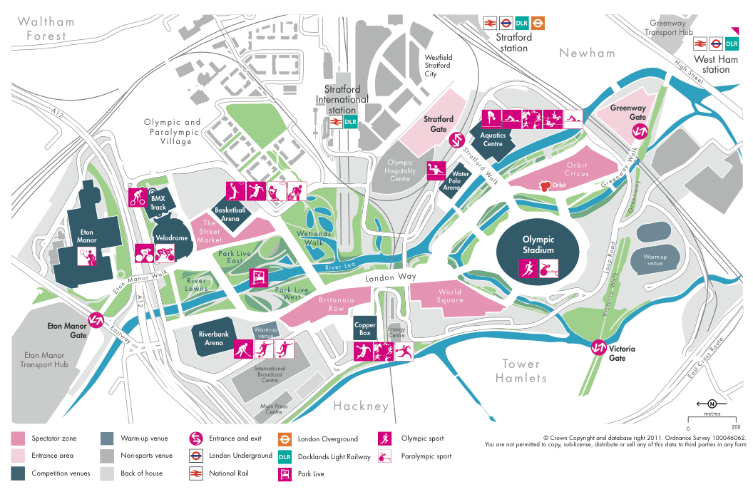 Cartonerd 2012 Olympic Maps