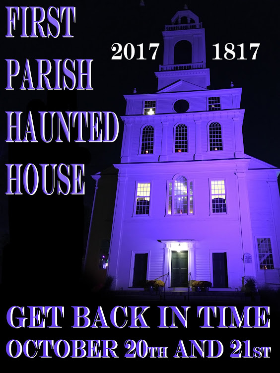 First Parish Haunted House, Bedford MA.