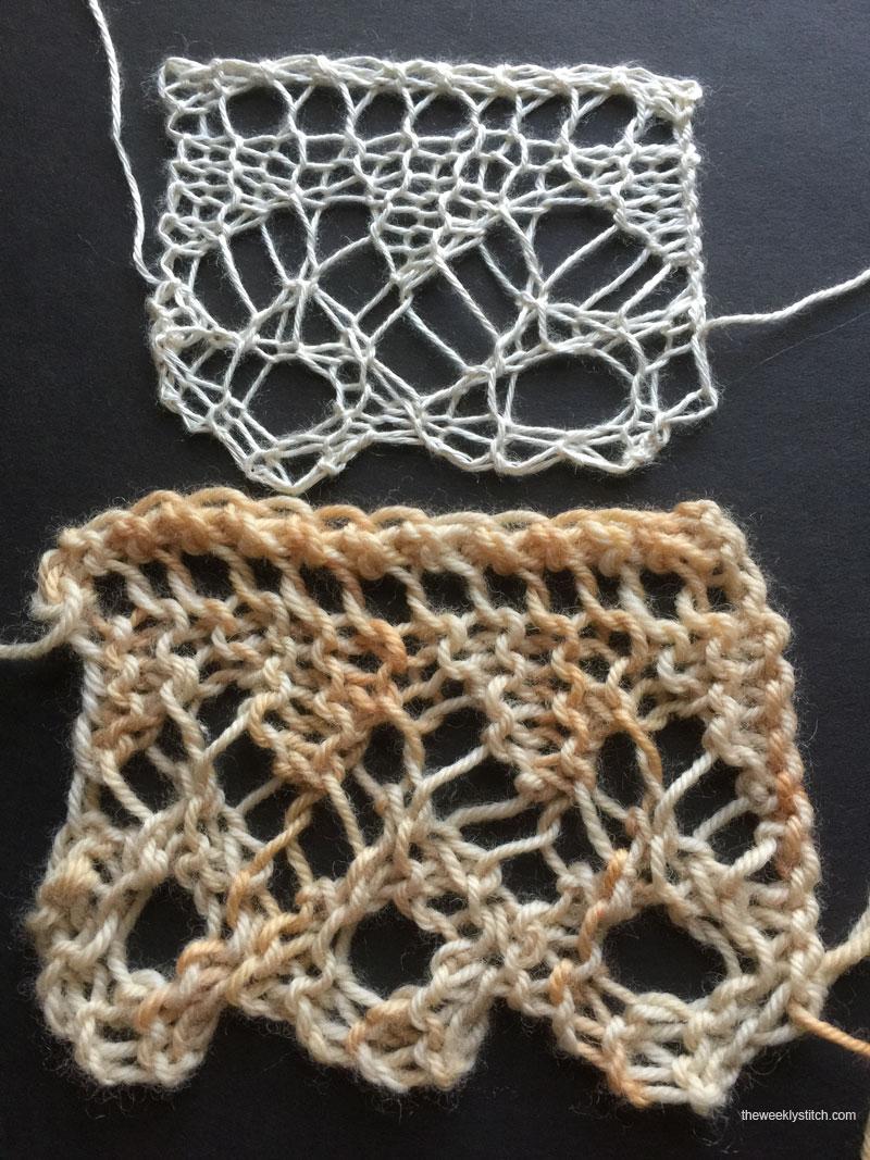 Knitting Stitch Patterns Edging : Cyprus Edging The Weekly Stitch