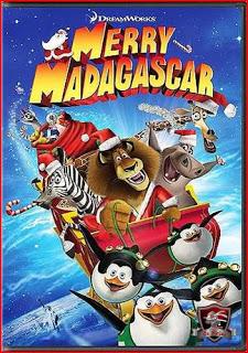 Filme Feliz Natal de Madagascar Dublado AVI DVDRip