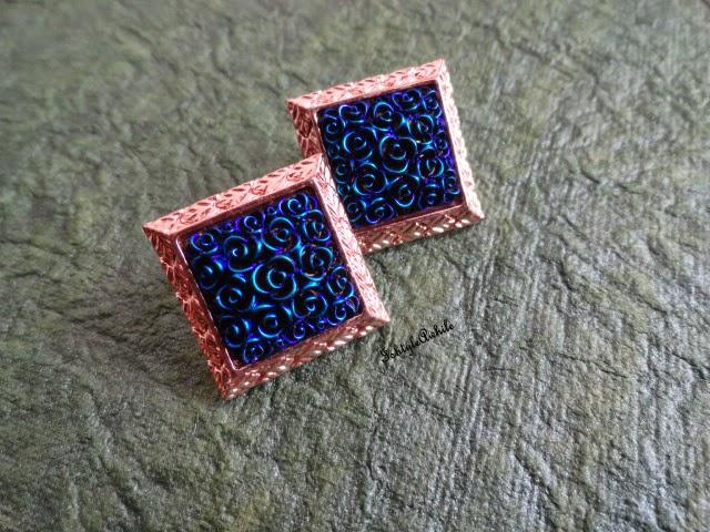 AVATAR #3: The Blue roses Earrings image