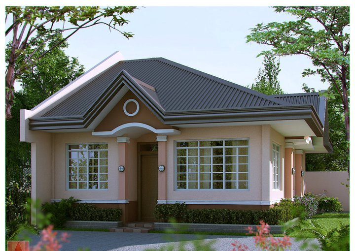 100 images of affordable and beautiful small house for Model house bungalow type