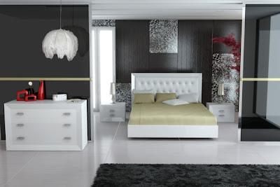 habitación matrimonial elegante