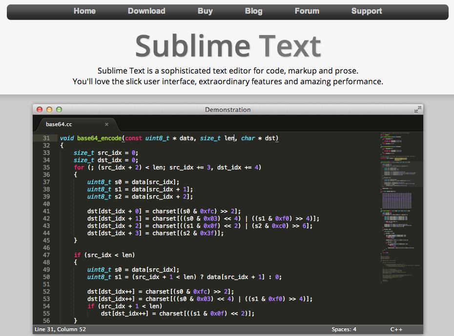 http://www.sublimetext.com/3