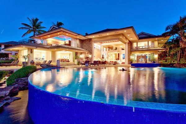 The most beautiful villas in the world the simply for Hawaii package homes