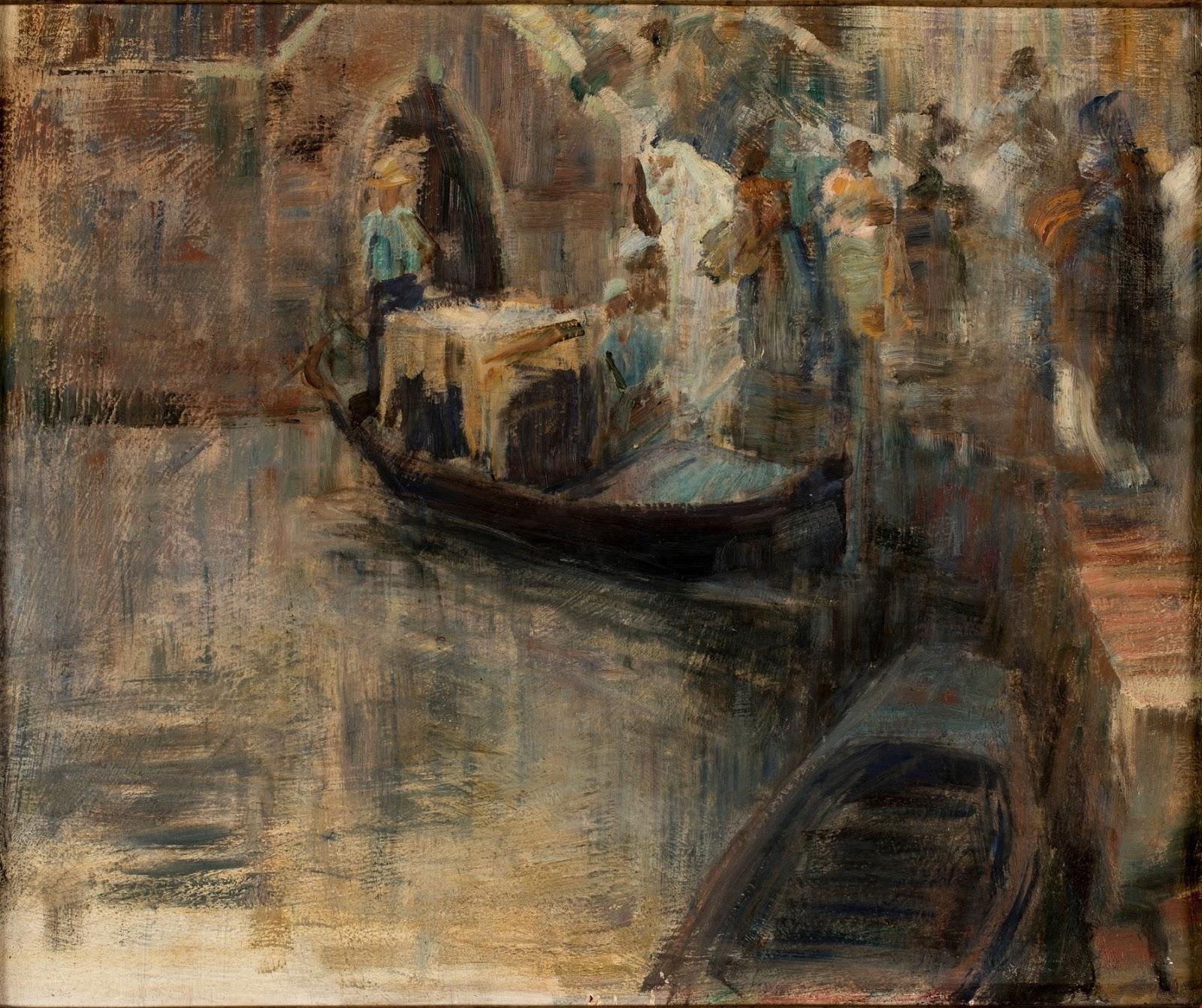 Alessandro Milesi Sposalizio  in  laguna