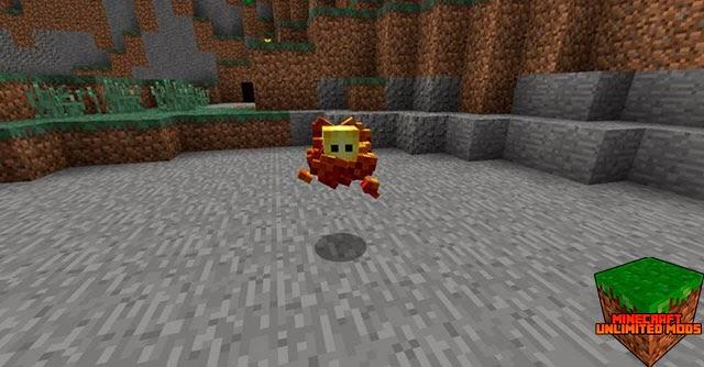 Elementals Mod mascota fuego