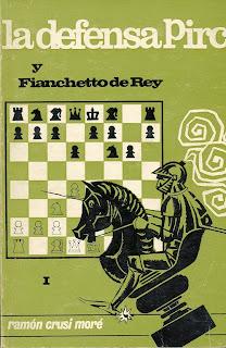Portada del libro La Defensa Pirc y Fianchetto de Rey de Ramón Crusi Moré