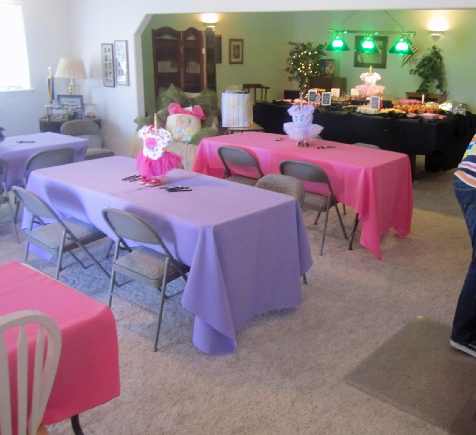 Uncategorized Tutu Centerpieces For Baby Shower Inking Idaho Natalies Baby  Shower Each Centerpiece Was A Onsie