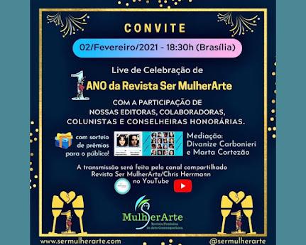 🥂A Revista Ser MulherArte convida🥂