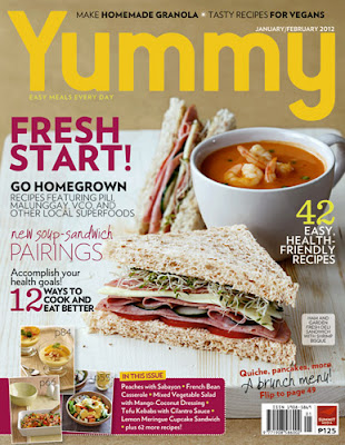 Yummy Magazine Jan-Feb 2012