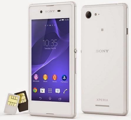 Sony Xperia E3 Dual Smartphone Android Murah Rp 1 Jutaan