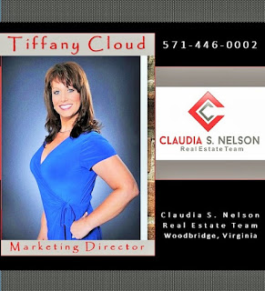 Tiffany Cloud, Marketing Director, #1 Top Producing Agent, Realtor, Claudia S. Nelson, Real Estate Team, press releases for listings, blogs for listings, marketing your Woodbridge VA listings, Social Media, SEO & Domain authroity expert for Woodbridge VA Real Estate, marketing listings, perfect buyers, sell your home fast, Find a Realtor, Woodbridge VA