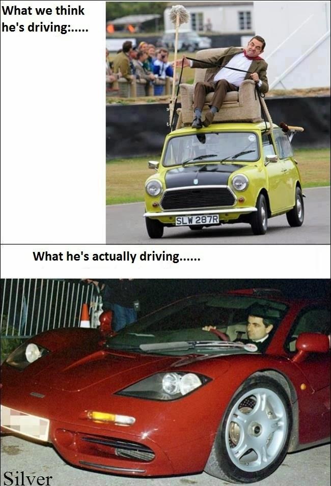 Mobil Mr. Bean Dalam Imajinasi Kita Vs. Kehidupan Nyata