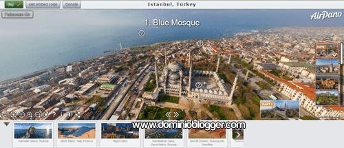 tour mundial y virtual en 360 grados con Airpano
