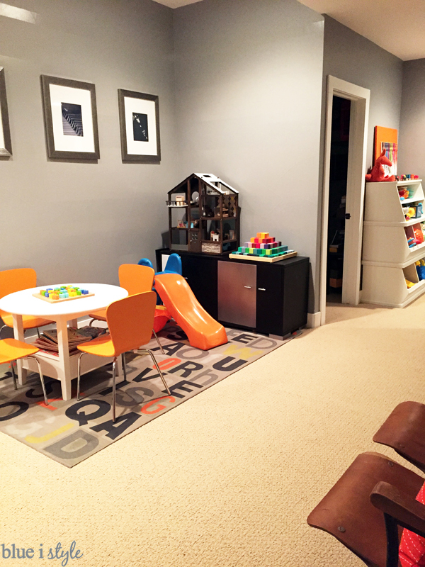 Decorating with style my home style modern graphic for Kids play area in living room ideas