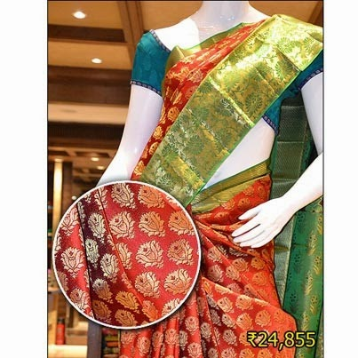 Pothys Silk Sarees with price