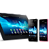 Sony anuncia Xperia T TX, V, J e Xperia Tablet S