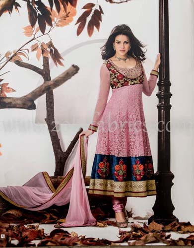 Zobi Fabrics Latest Party Wear Outfits Collection 2013 For girls Women 8 - Zobi Fabrics Latest Party Wear Outfits