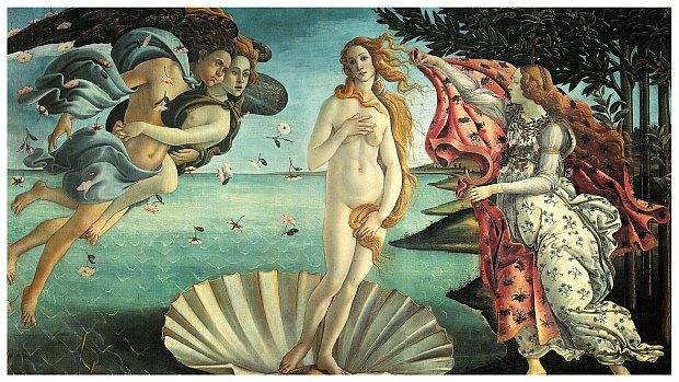 Sandro Botticelli Narodziny Wenus