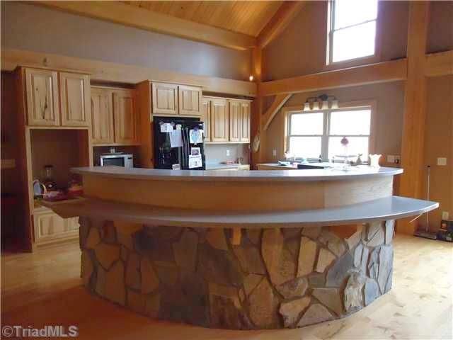 stone on kitchen bar