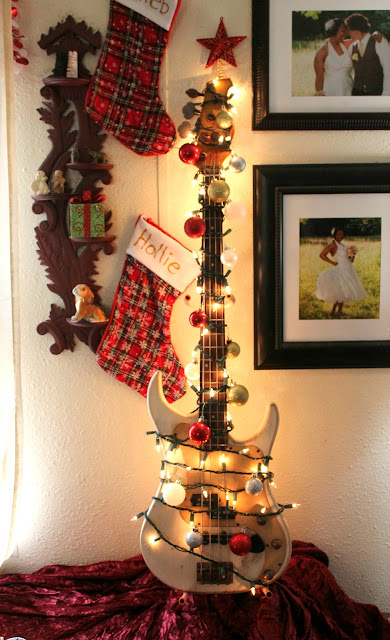 Our Quirky Bassmas Tree {Christmas Tree Alternative}