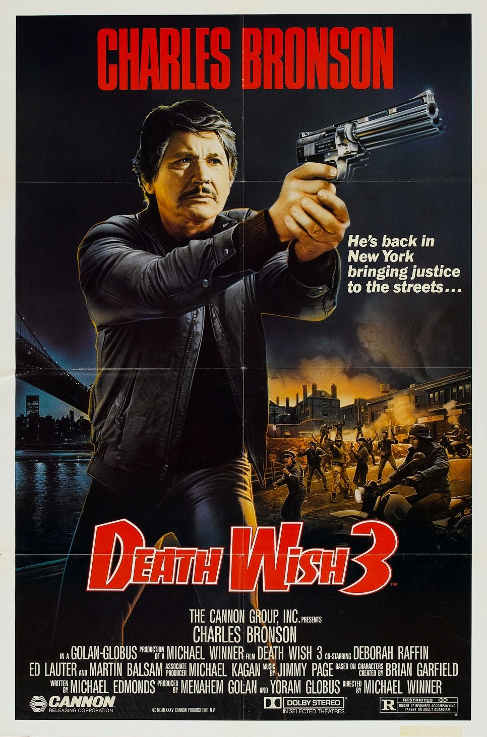 Bronson Death Wish 3 Death Wish 3 Commentary