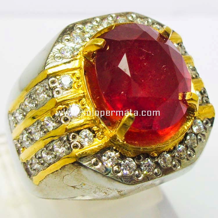 Batu Permata Top Merah Ruby - SP 010
