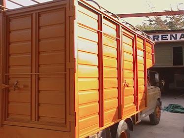 arenados de camiones