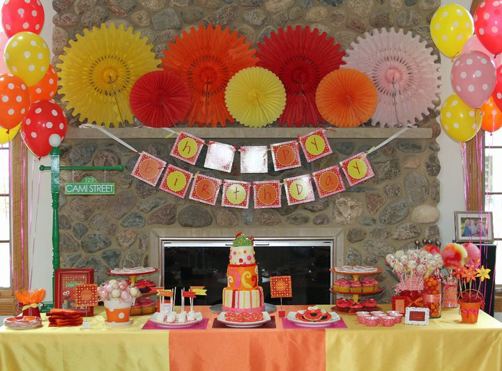 Cami's Elmo 2nd Birthday