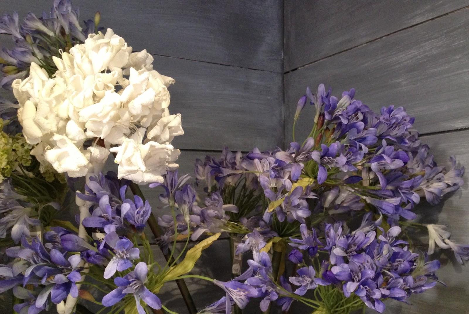 Ellen desforges bleu mer fa on sia de la fleur artificielle l 39 art de - Sia fleurs artificielles ...