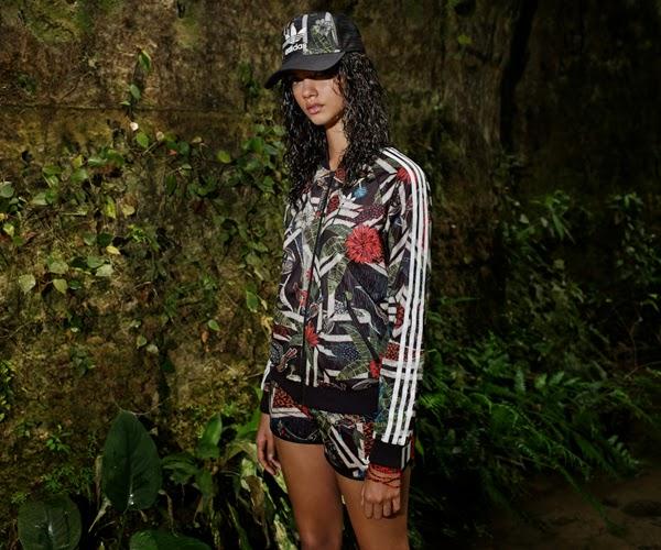 Adidas Originals x The Farm Company chaqueta chándal pantalón corto