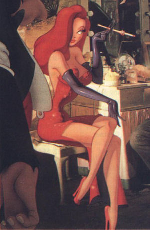 jessica rabbit wallpaper. Jessica Rabbit
