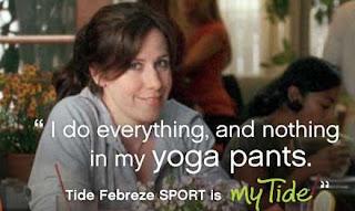 My Tide als Vollwaschmittel für Yoga Pants?