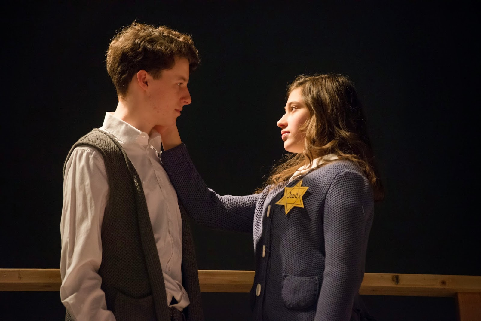 Media theatre news the media theatre wins 18 broadway for Anne frank musical